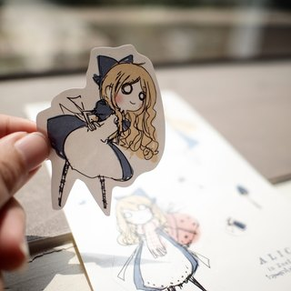 Alice illustration ZoeL * * Art stickers. Alice protagonist paragraph * MIT (original pattern)