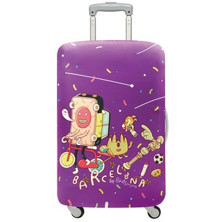 LOQI luggage jacket │ Barcelona [M]