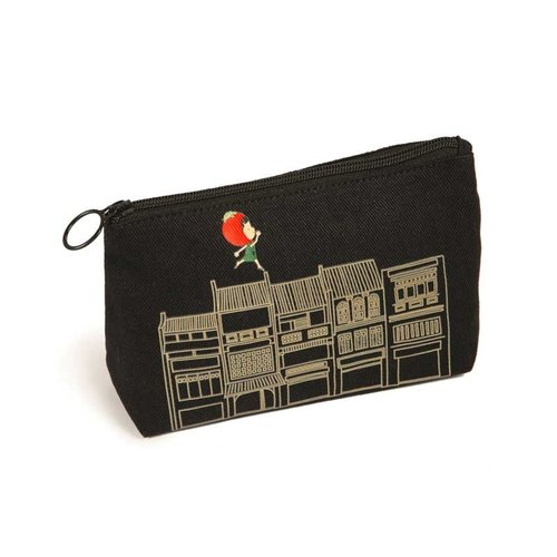 Ang Ku Kueh Girl and Friends Shophouse Series Travel Pouch