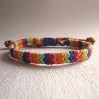Fruit ice lucky rope woven bracelet (optional color)