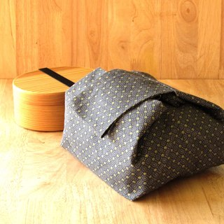 Japanese style lunch bag .Cotton 100% from Japan.Handmade lunch bag.