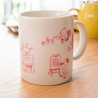 [LimTe] Big Mug: Pink Morning