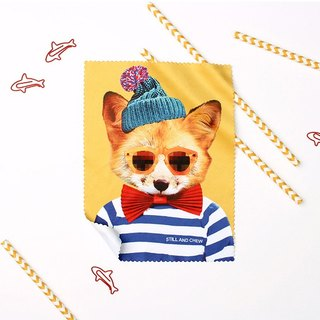 STILL AND CHEW wipe mirror cloth - GENTLE FOX