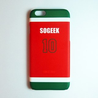 SO GEEK phone shell design brand THE JERSEY GEEK jersey back number Customized paragraph 043
