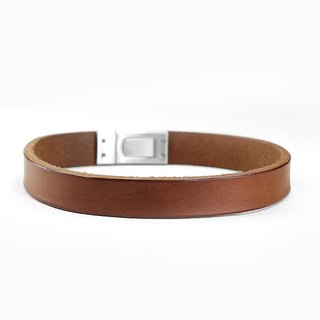 [Leather rope] minimalist leather leather collar ((send lettering))