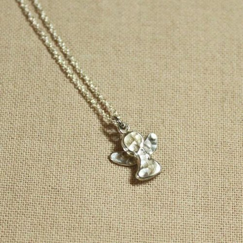 Ohappy Gospel series. Guardian Angel Silver Necklace