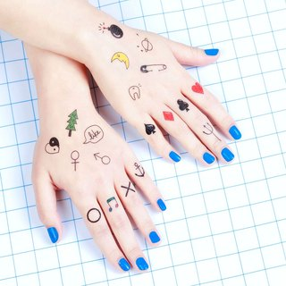Surprise Tattoos / Mini Treasure mini baby tattoos tattoo stickers
