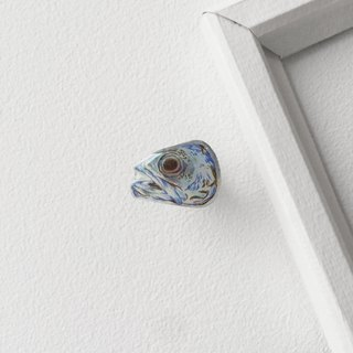 #03_Fish : Handmade Shrink Plastic Brooch