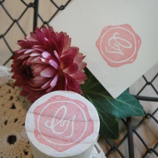 Hand-made rubber stamp - wax seal chapter (NO 1 G)