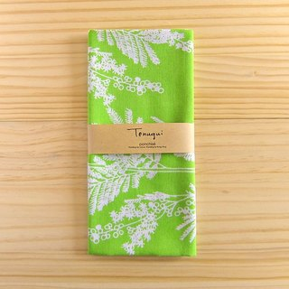 Oxalis grass green hand handkerchief wipe