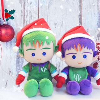 Christmas elf doll fluff deals for group winbrothers stuffed doll SET (Max's)