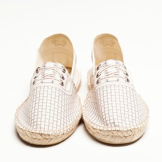 BSD GROOVER DOT WHITE emulation print fashion casual shoes