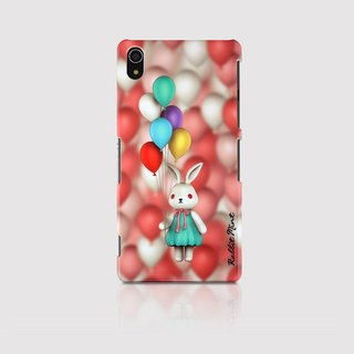 (Rabbit Mint) Mint Rabbit Phone Case - Bu Mali balloons Series Merry Boo - Sony Z2 (M0009)