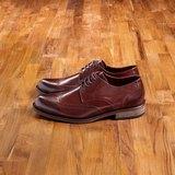 Vanger 優雅美型‧簡尚雅紳翼紋雕花仕鞋║Va180古典咖 台灣製
