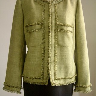 Small fragrant wind jacket - grass green
