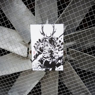 [Ink postcard] mountain deer help