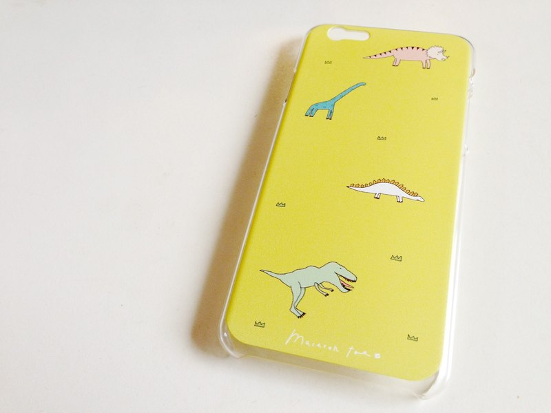Macaron TOE  Walk with Dinosaurs | Hard iPhone Case