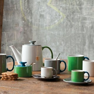 Jansen + co color sugar bowl - green + blue