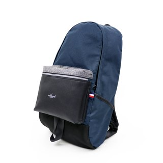 Matchwood Design Matchwood Infantry Simple Classic Backpack 17 吋 电夹层 Leather Blue