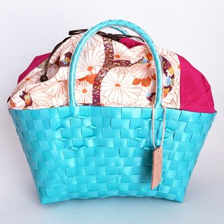 Plabag with Kimono - manakaban and jollies collaboration - light blue