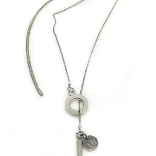 Crystal Hammer Necklace (H6)