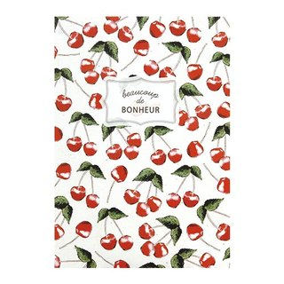 [Japanese] Fruite LABCLIP series A5 note notebook / Cherry