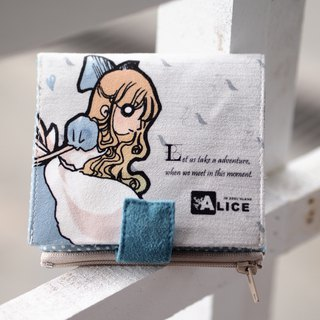 ZoeL * Short Wallet * smile Alice * Alice original illustrations