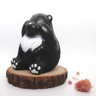 MuMu Sweety ✿ hand-colored black bear bear pots Edition