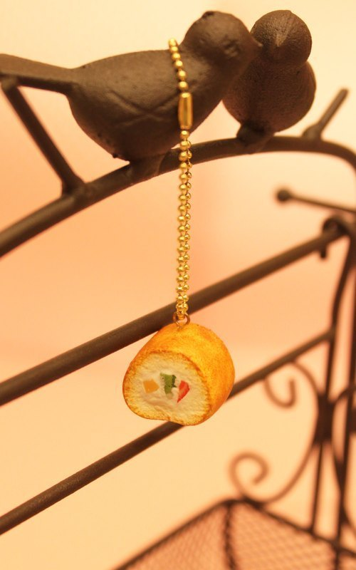DOUBLE SWEET - Valentine's Day gift cute little hand-fashion European style fruit cake Charm