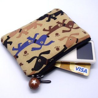 Zipper pouch / coin purse (padded) (ZS-5)