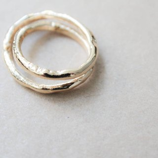 Unlimited ∞ brass ring (can be turned into necklaces)