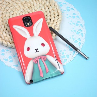 (Rabbit Mint) Mint Rabbit Phone Case - Bu Mali Merry Boo - Note 3 (M0001)