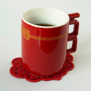 A hundred years of good mugs (gift coasters)