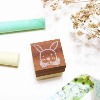 [Stock goods] handmade rubber stamp - Living stamp (E)