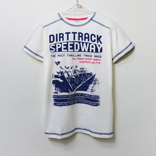 Motorcycle race short-sleeved shirt