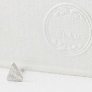 QLAM Handmade Silver Earrings - The pausing triangle - the fruit of the Holy Spirit , self-control - Gospel jewelry , triangle