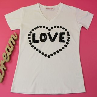 Love Yourself Handpaint & Embroidery T-shirt