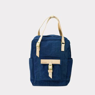 【ZeZe Bag】DYDASH x 3way/hand bag/shoulder bag/backpack/diaper bag/contrast color(Uncle Blue )