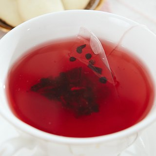 Blueberry Fruit Tea (8pcs/bag) │ Triangle Tea Bags ‧ Seeing Tea Bags Fruit Rolling