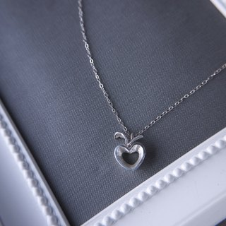 Love Apple Silver925 necklace, Bridesmaids Gifts, Birthday gift