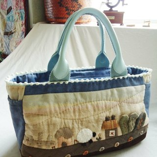 Sky Blue Lamb Farm / handbag
