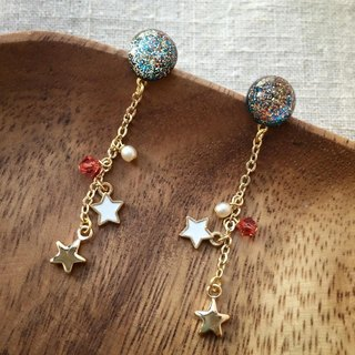 Starry Meteor Earrings