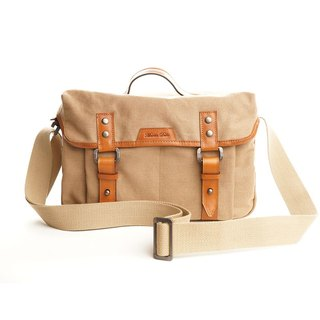 Martin Duke Shoulder Bag-TELA Khaki