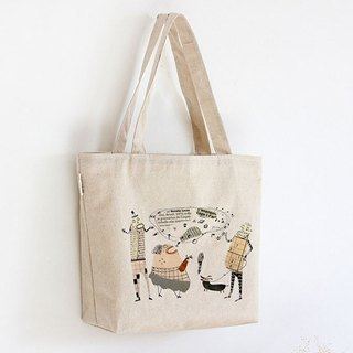 Tote bag-My broken English