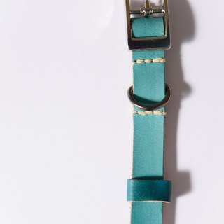 Handmade leather pet collar - dog collar + 10% discount on bells (minors, puppies area)