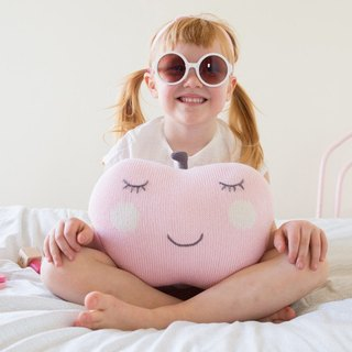 American Blabla Kids | Pillow - Pink Apple Face 1-11-123