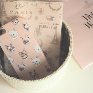 Cats iPhone Case (Nude)