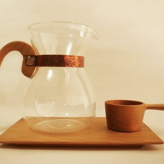 Lu La Rosee wood feel coffee pot group / classic collection / Taiwan elm group / pre-order models