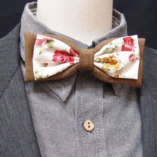 Classical Rose bow tie
