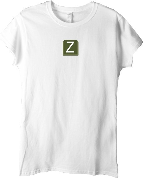 kuroi-T Design T-shirt Keyboard Series Z